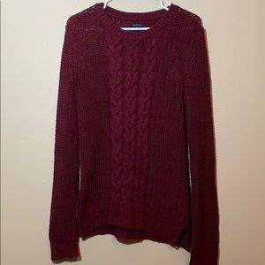 Nautica Chunky Cable Knit Sweater NWOT Small